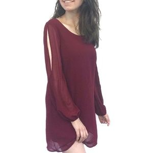 As U Wish Red Dress